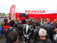 Honda po raz kolejny organizuje szkolenie z zakresu bezpiecznej jazdy motocyklem!